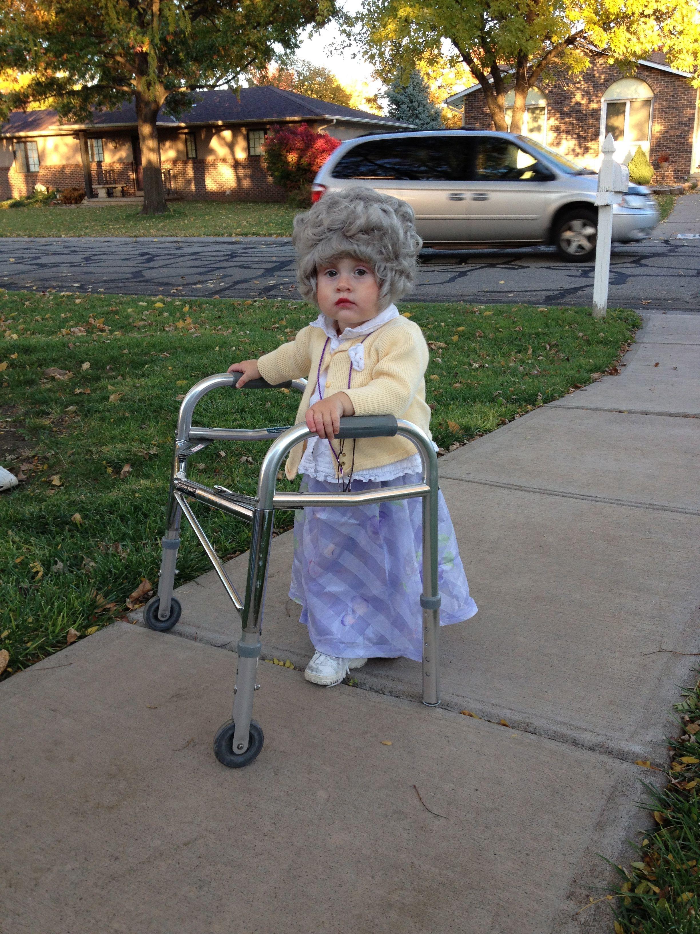 Diy old lady costume