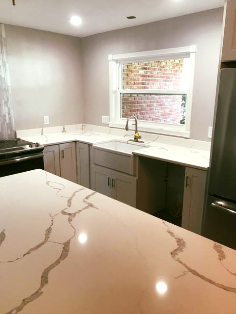 Beautiful Custom Made Kitchen Countertop Using Amazing New