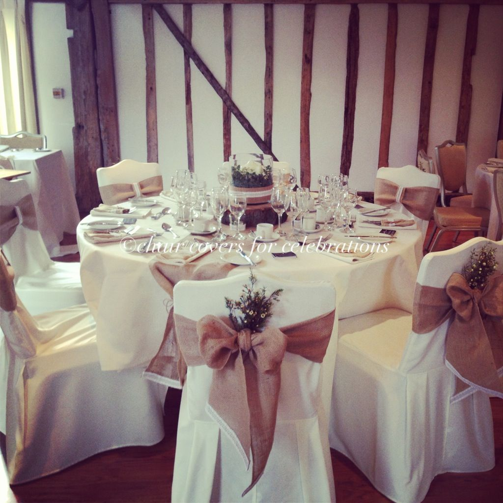 Rustic Chair Covers Sashes Table Runners And Centrepiece For Www