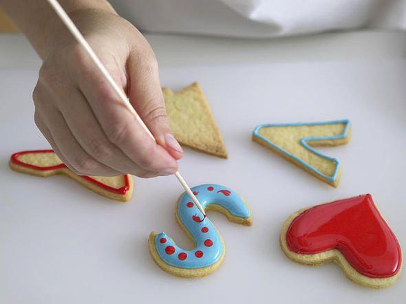 Verzieren mit Zuckerguss   LECKER   Zuckerguss selber