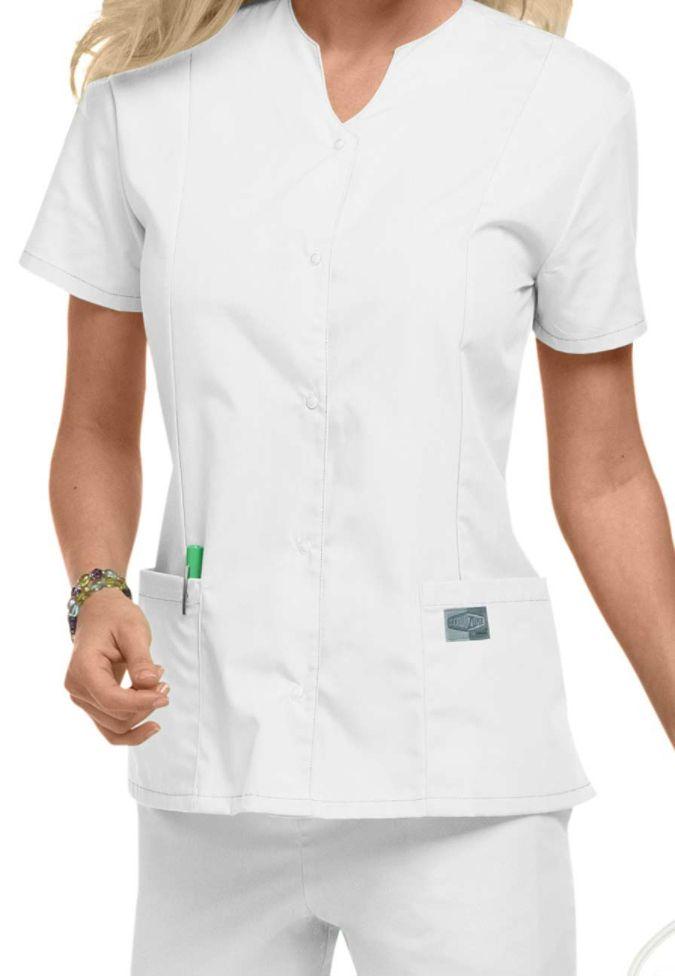d8523b79cae ScrubZone snap front scrub top. Main Image | Buy Ideas | Scrub tops ...