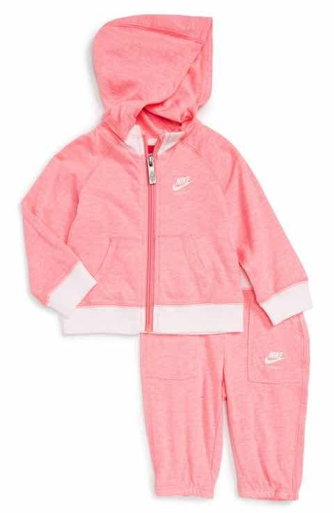 Nike Baby Girl Clothes Fascinating Nike Vintage Gym Zip Hoodie & Sweatpants Set Baby Girls  Baby