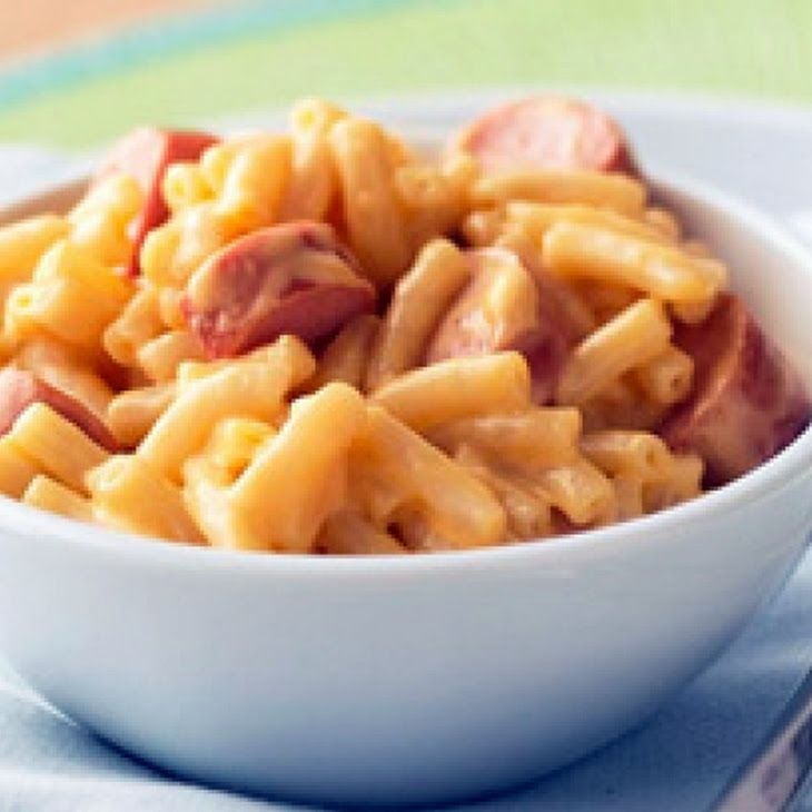 Macaroni, Cheese And Hot Dogs