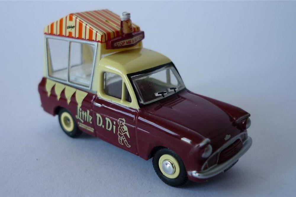 Oxford 1 76 Ford Anglia Di Maschios Ice Cream Van 76ang039 00gauge Railway Model Ice Cream Van Vans Cars