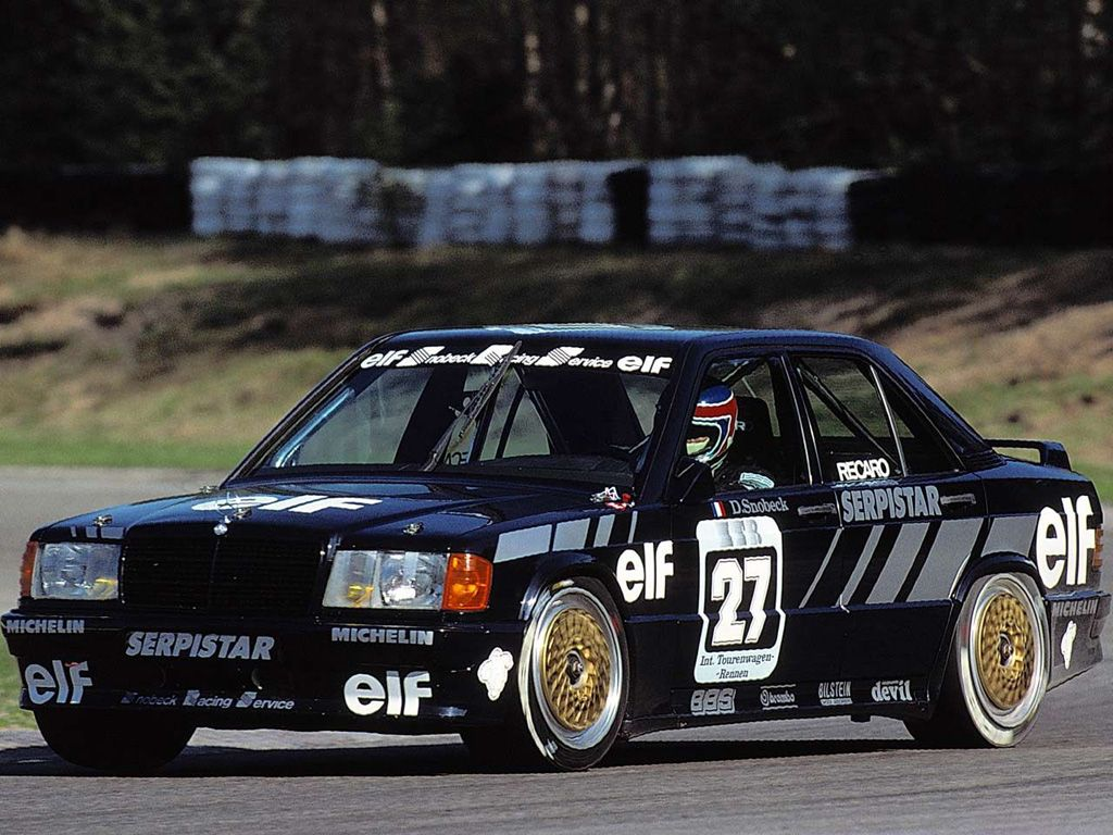 Mercedes benz 190 race car modern racers pinterest for Rally mercedes benz