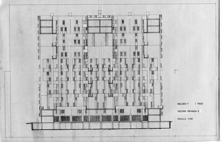 Walden 7 (1970-75) Sant Just Desvern, Barcelona | Ricardo Bofill - Taller de Arquitectura