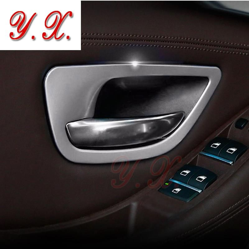 Car Styling High Quality Stainless Steel Interior Door Handle Trim