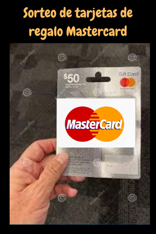 Sorteo De Tarjetas De Regalo Mastercard Mastercard Gift Card Get Gift Cards Gift Card Generator