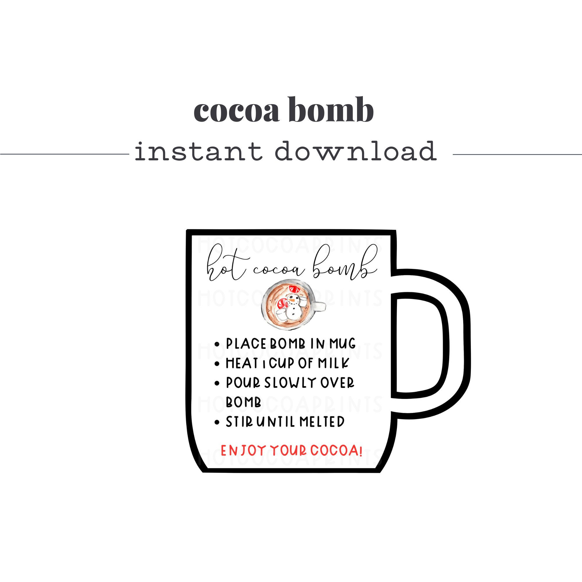 Hot Cocoa Tags For Cricut Chocolate Bomb Instructions Mug Etsy In 2021 Hot Chocolate Quotes Chocolate Bomb Thanksgiving Labels