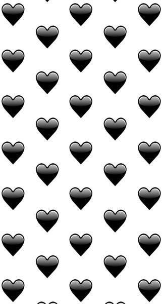 Android Dark And Hearts Image Emoji Wallpaper Cute Emoji Wallpaper Emoji Wallpaper Iphone
