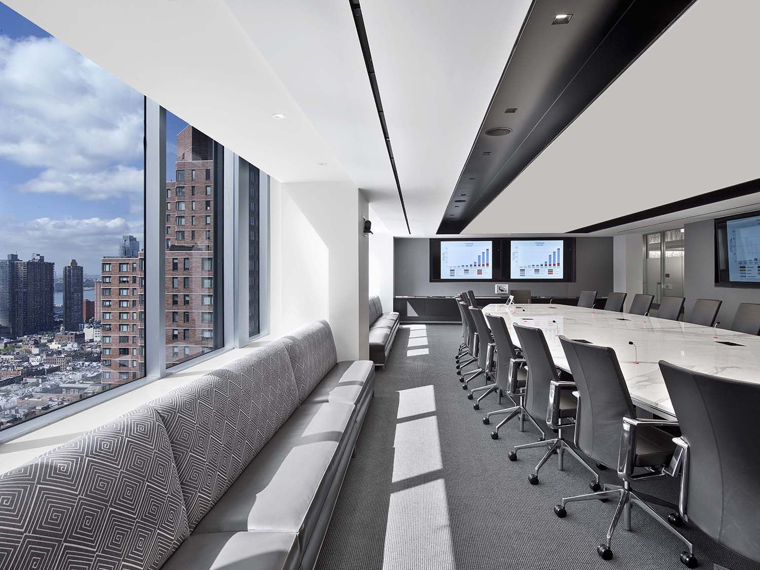 A Tour Of Assured Guaranty S Modern Nyc Office Conference Room