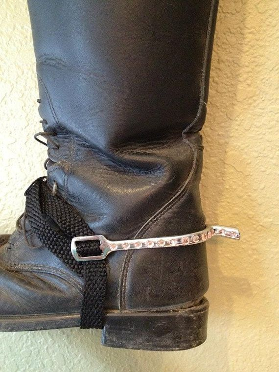 Customized Rhinestone English Riding Spurs English Riding Equestrian Style Riding Outfit