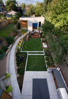 LoHi Private Residence - contemporary - landscape - denver - by Andrea Schumacher Interiors
