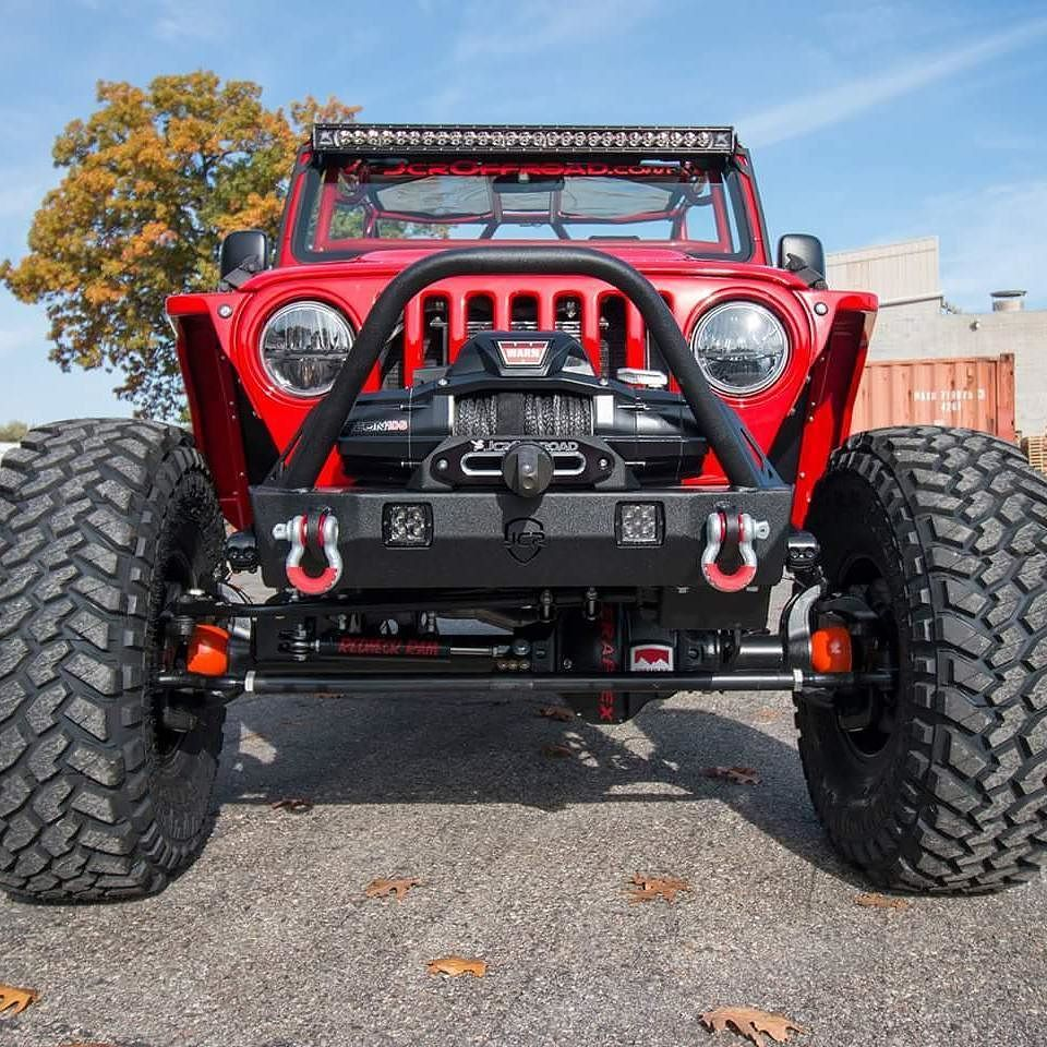 Our Dagger Stubby Bumper For The Wrangler Tj Yj And Cj Integrates