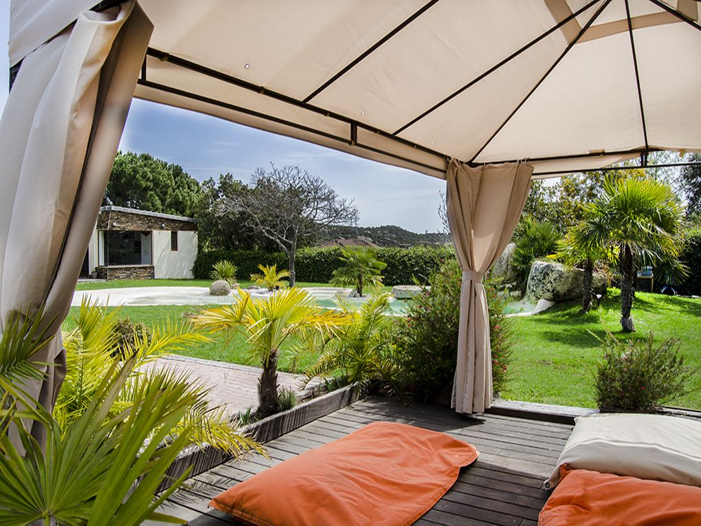 Jardin Con Zona Chill Out En Torrelodones Jardines Pinterest - Jardines-chill-out