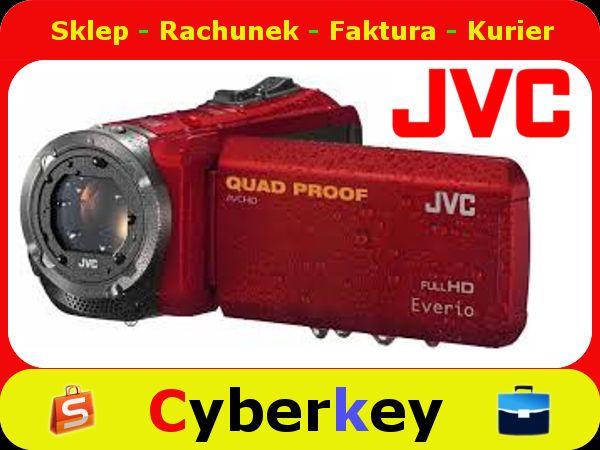 Jvc Kamera Gz R315 Red 5209332045 Oficjalne Archiwum Allegro Jvc Red