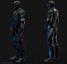 Cyberpunk Body Armor Art