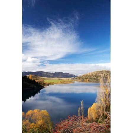 Lake Wanaka Otago South Island New Zealand Canvas Art - David Wall DanitaDelimont (11 x 17)