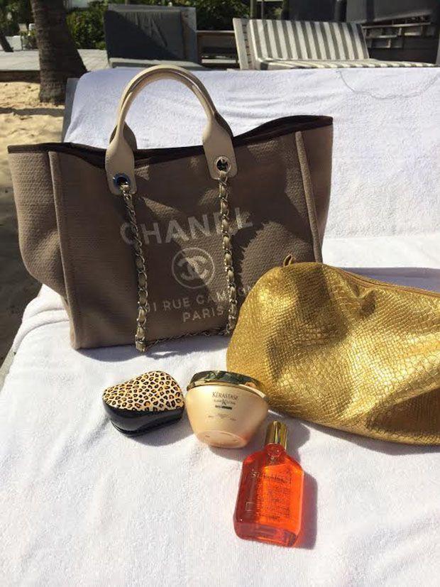 dde5304b0 Bolsa de praia | Chanel | Praia chanel, De praia e Bolsas