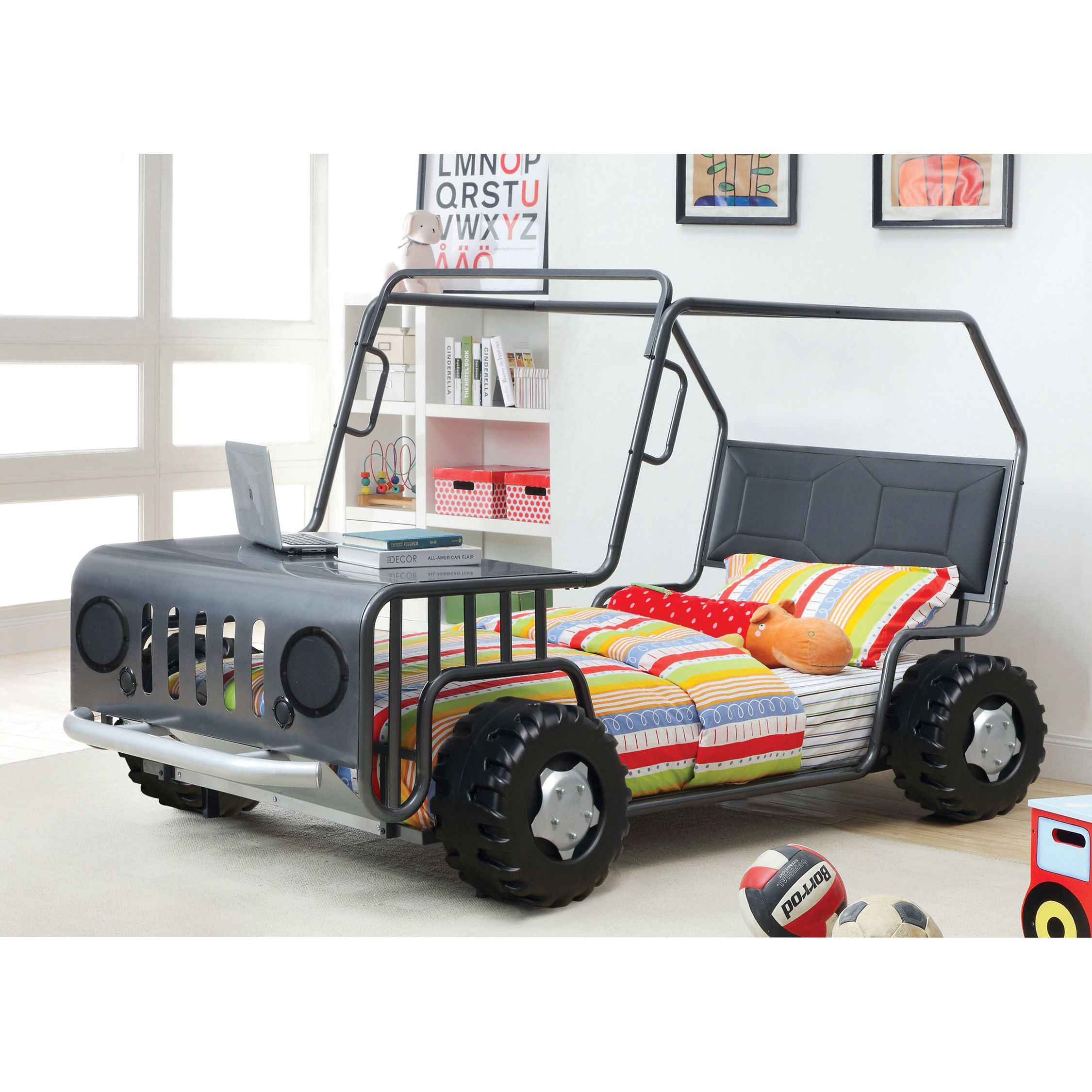 Off Road Twin Car Bed Twin Car Bed Bed Design Kid Beds