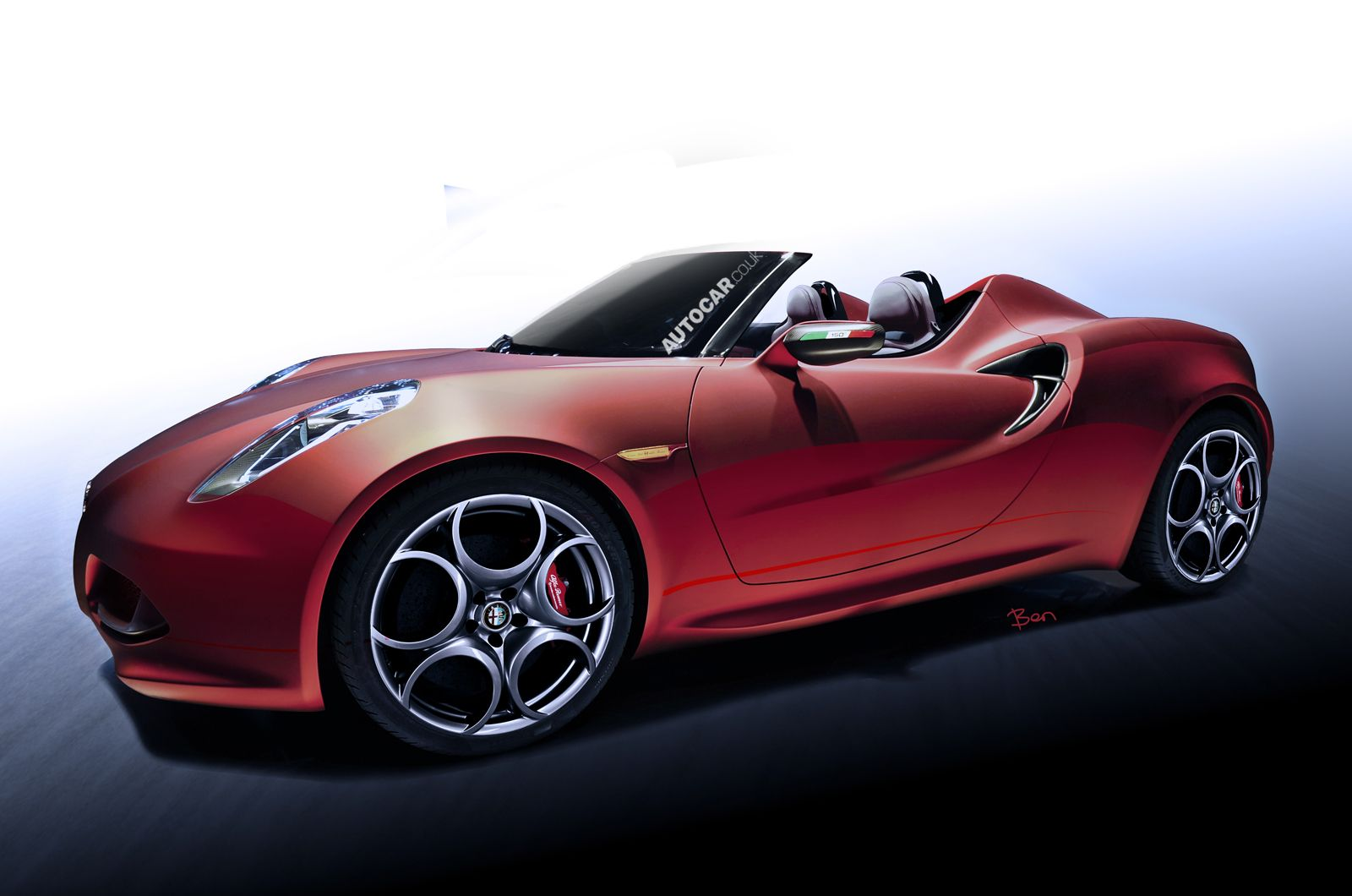 Alfa Romeo 4C Spider to cost from just under £60,000