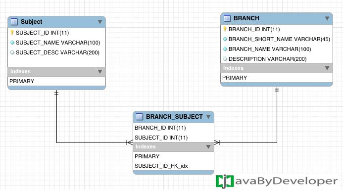 Many To Many Bidirectional Association Java Tutorial Object