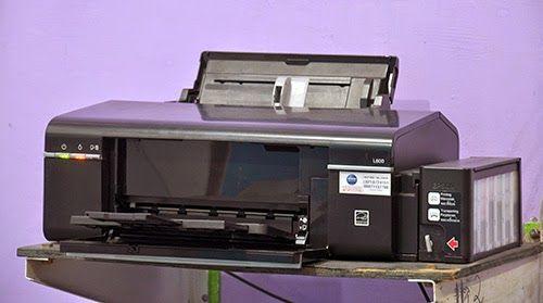 Dowload Driver và phần mềm reset máy in epson L800
