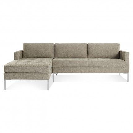 Paramount Sofa With Chaise Available In Four Colors And Left Or