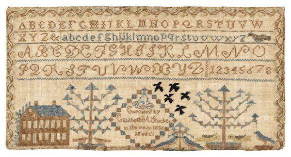 The Quilt House Winschoten.Avec Crochet Et L Aiguille Cross Stitch Samplers