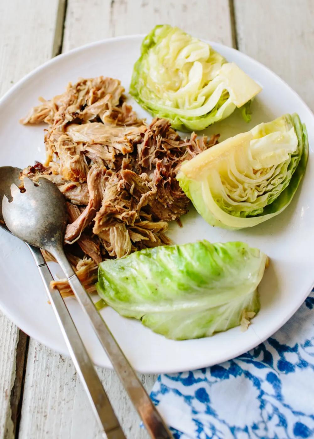 Pressure-Cooker Kalua Pig #hawaiianfoodrecipes
