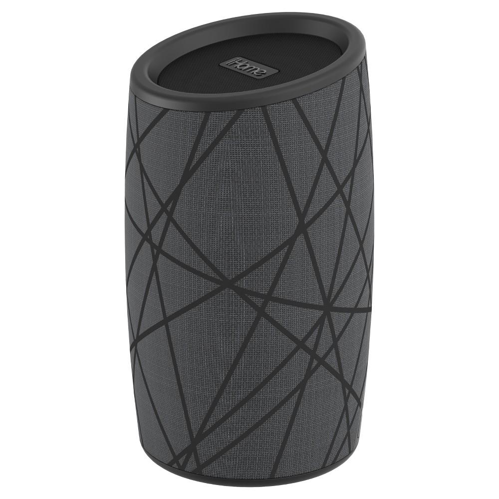iHome Speaker Splashproof Ibt77 Water Resistant Wireless Bluetooth for iPhone