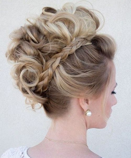 Updo Hairstyles 2019 #shortupdohairstyles