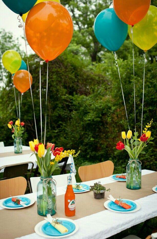 Pin de francesca zingoni en decoraci n de bodas y fiestas pinterest party birthday y grad - Decoracion fiesta jardin ...