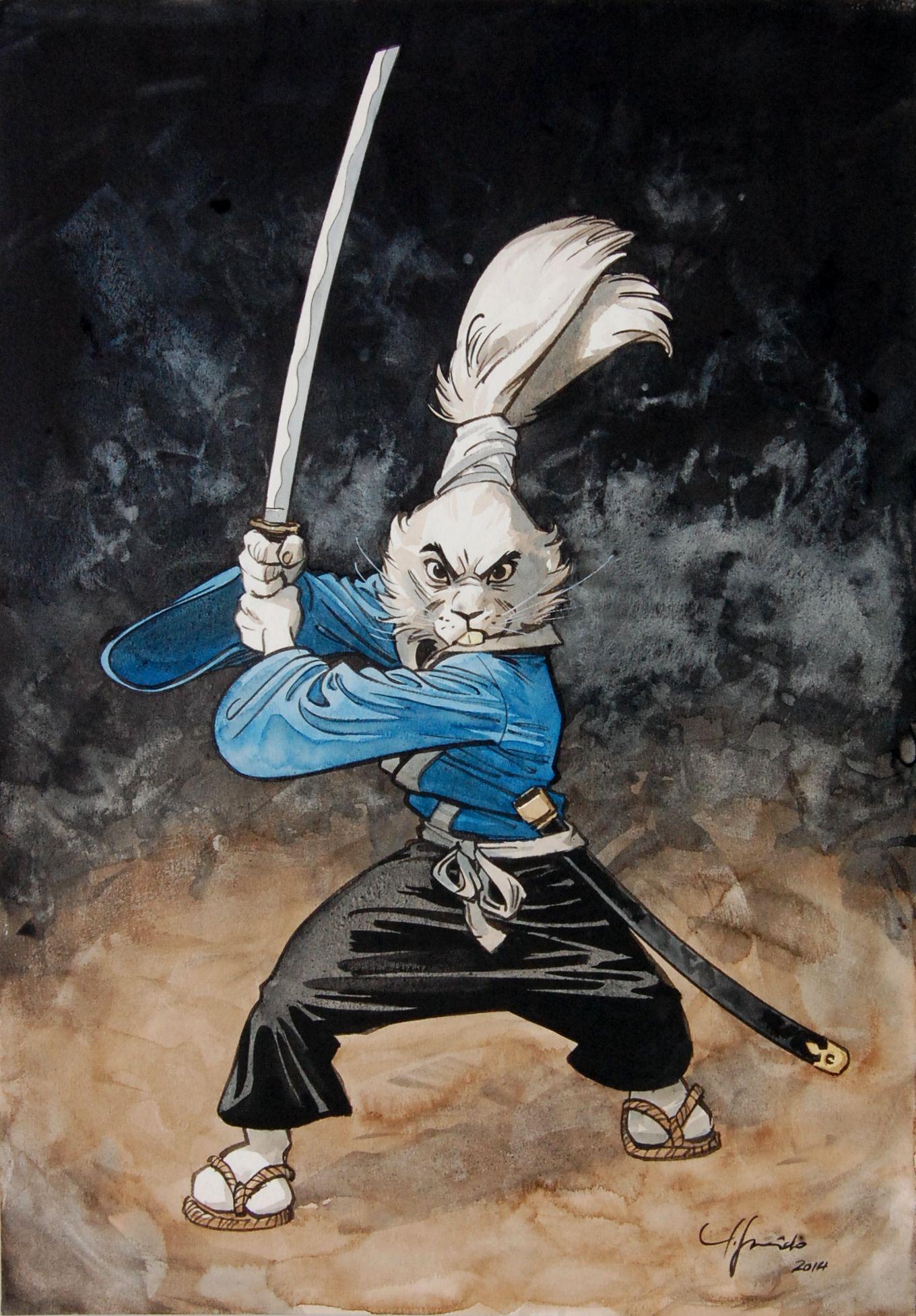 Juanjo Guarnido's Usagi Yojimbo tribute.