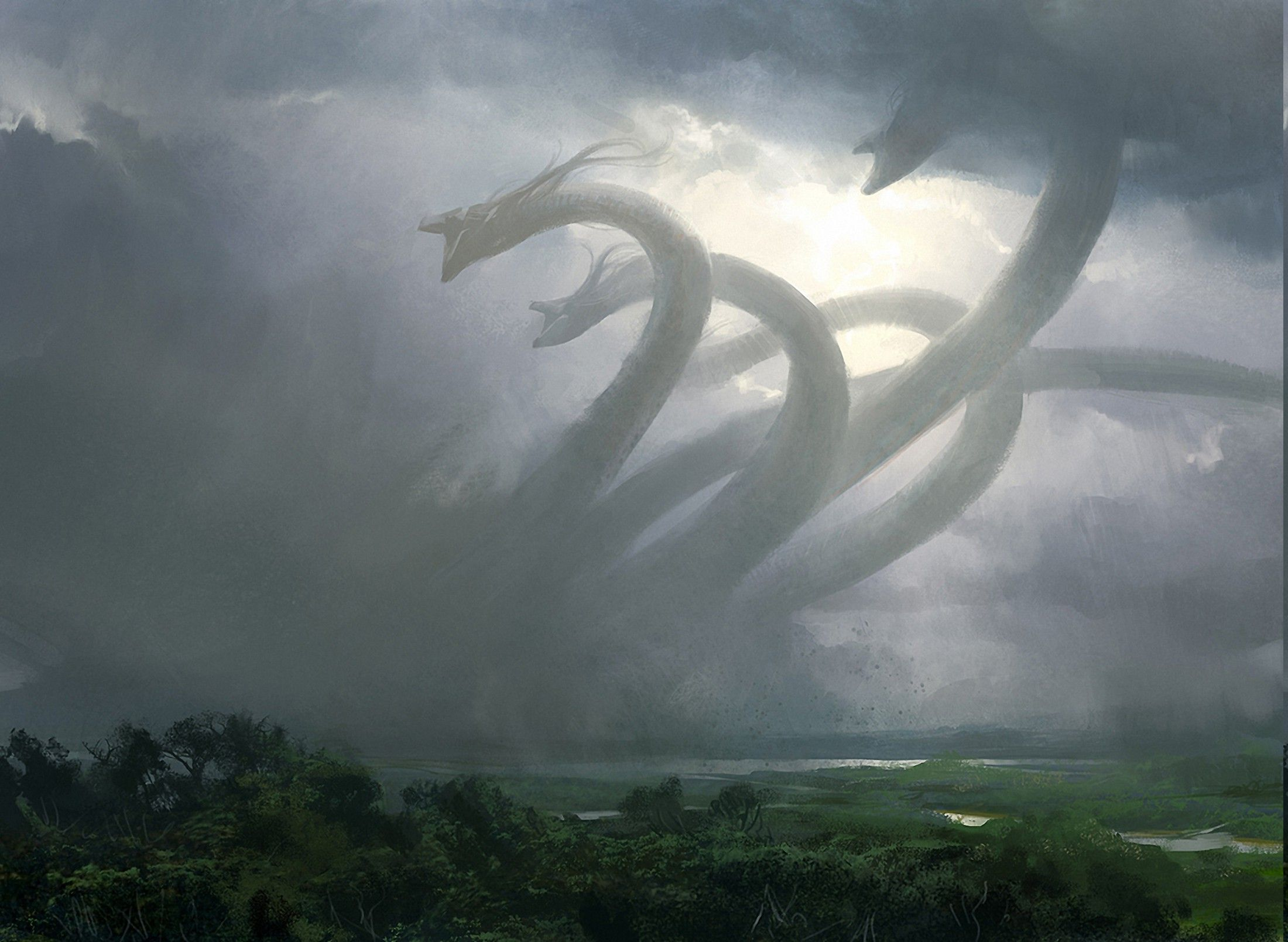 Download Hd Wallpapers Of 37456-fantasy Art, Hydra
