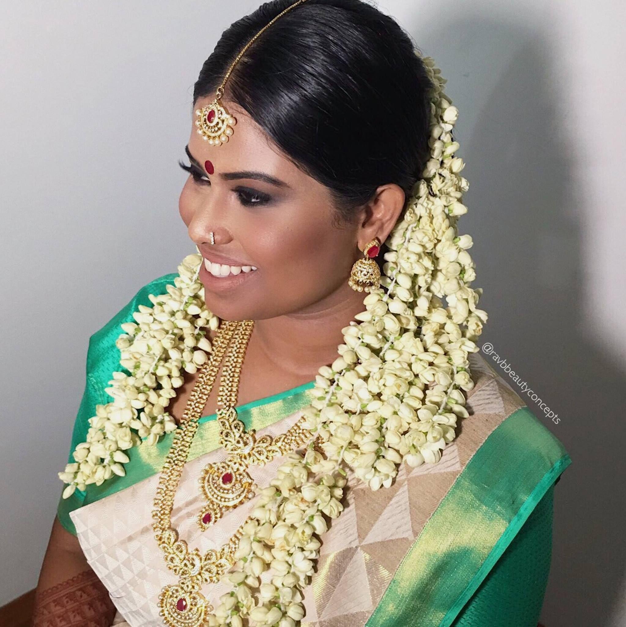 Indian Bridal Makeup Hair Bride