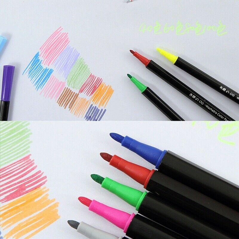 100 Colors Premium Painting Pen Watercolor Markers Pen Effect Best