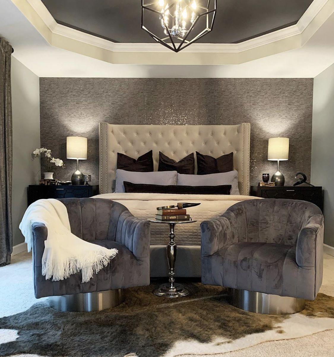 Master bedroom   Neutral bedroom decor, Gorgeous bedrooms ...