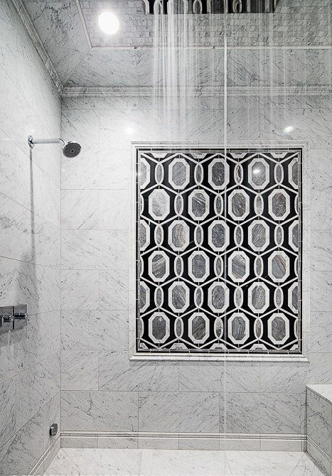 Artistic Tile I In This Houston Tx Home A Luxe Marble H Gets