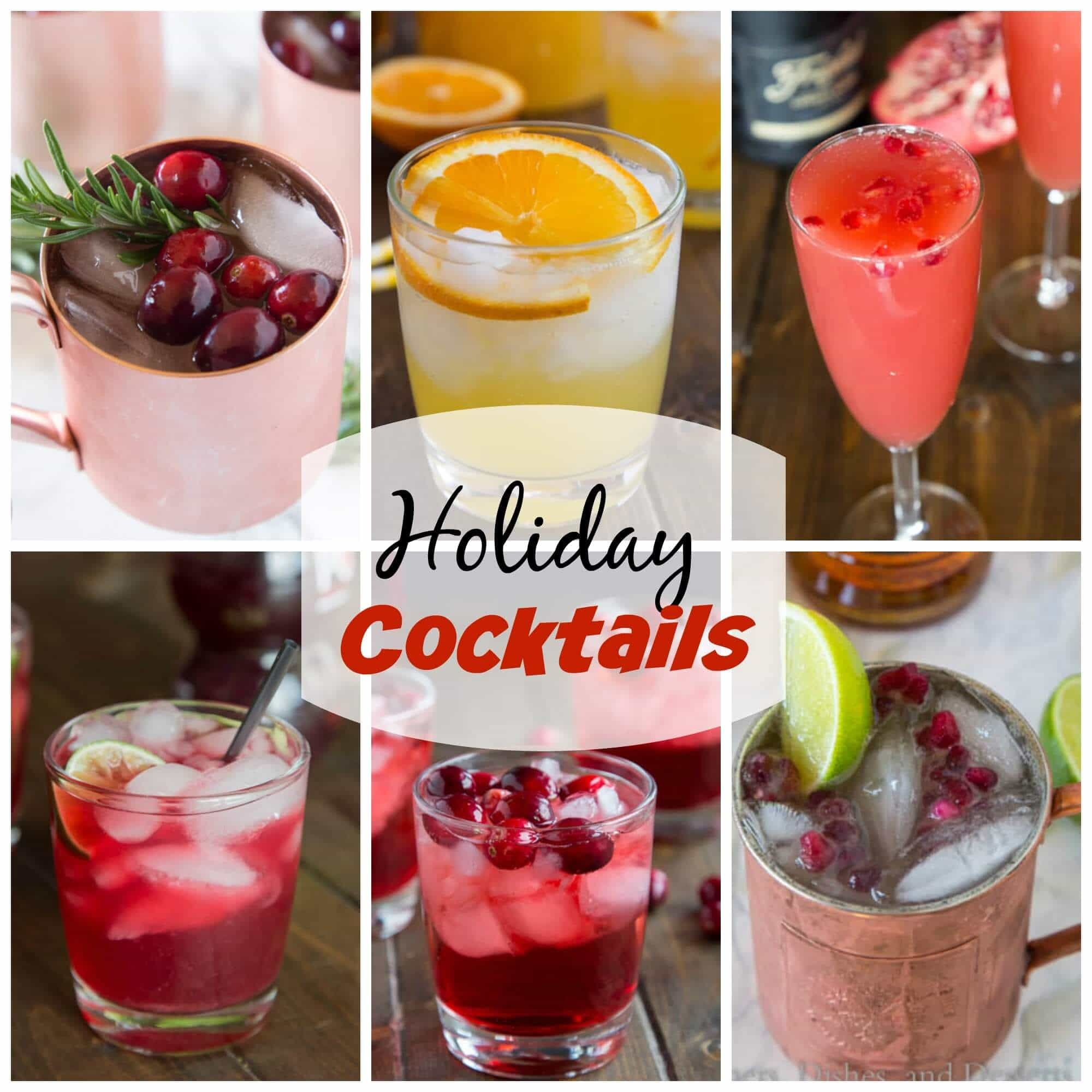 4 Holiday Cocktail Recipes by Food Drink Bloggers To Sip This Season