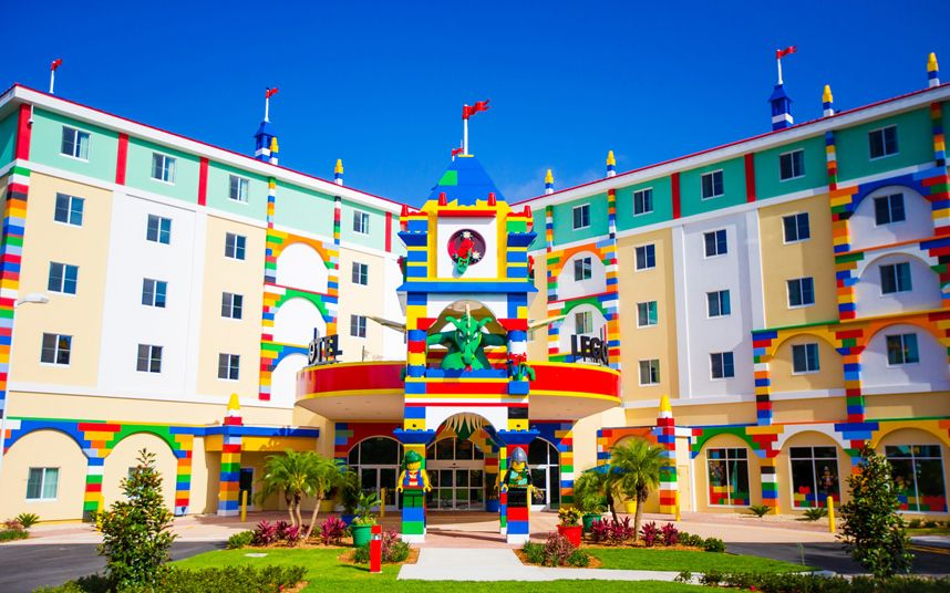 Legoland Hotel Florida Us In Pictures