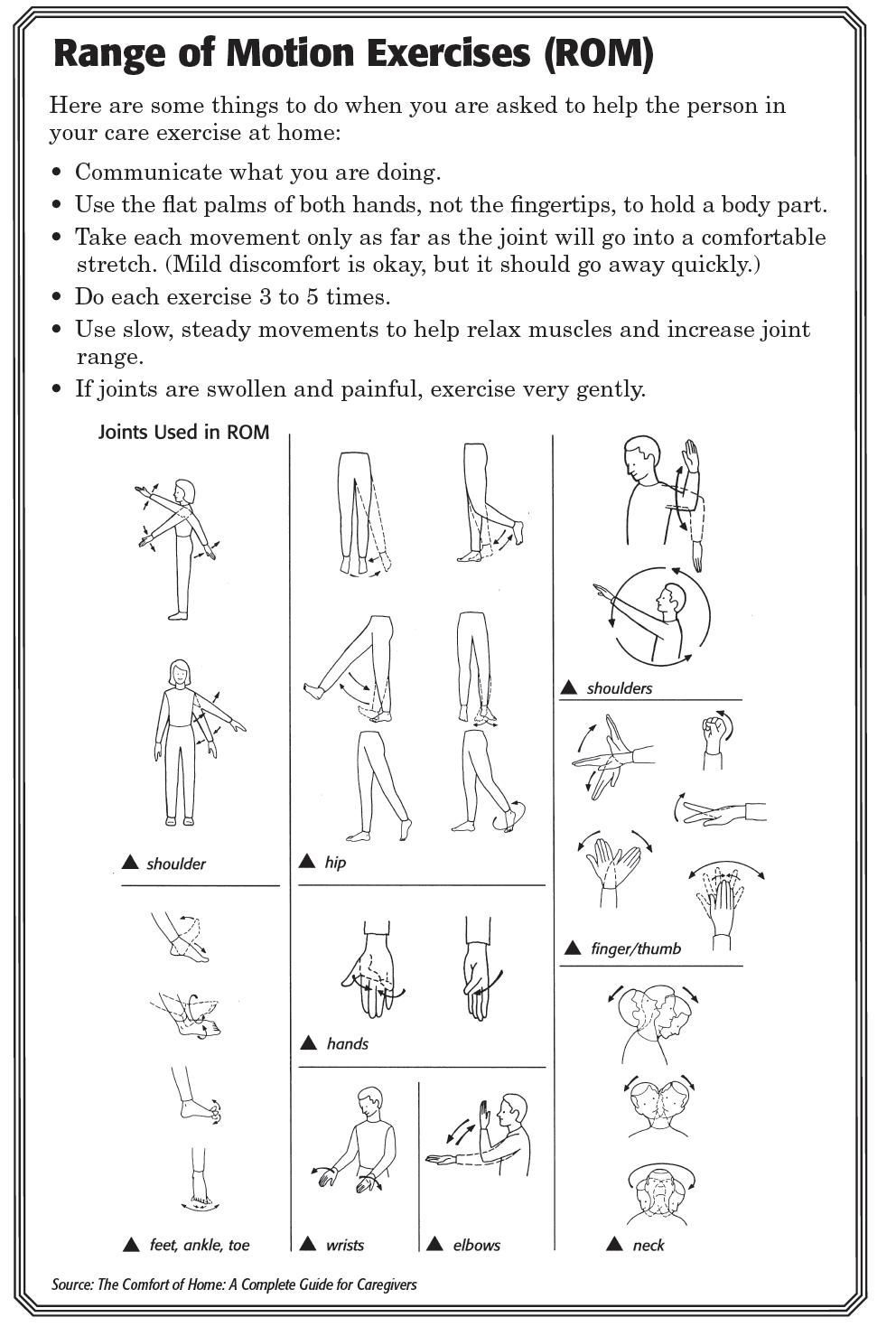 Ankle sprain physical therapy - Try These Range Of Motion Exercises With Them And Let Us Know What You