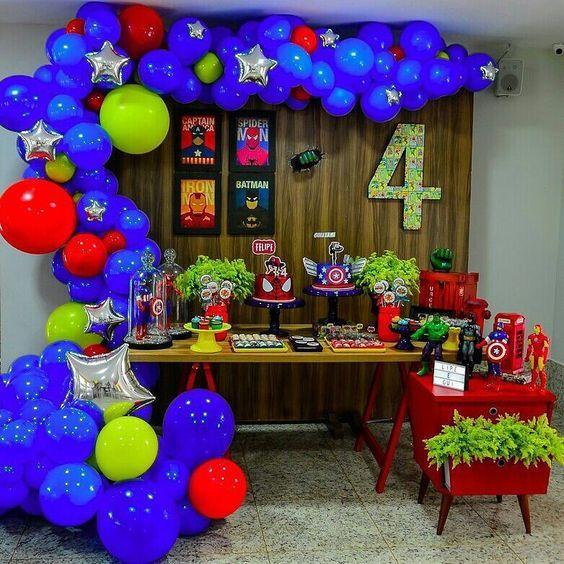 25 Ideas De Cumple David Andres Avengers Fiesta De Cumpleaños Del Súperhéroe Fiesta De Super Heroes Fiesta De Los Vengadores