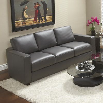 Marquis Top Grain Leather Sofa | Wayfair