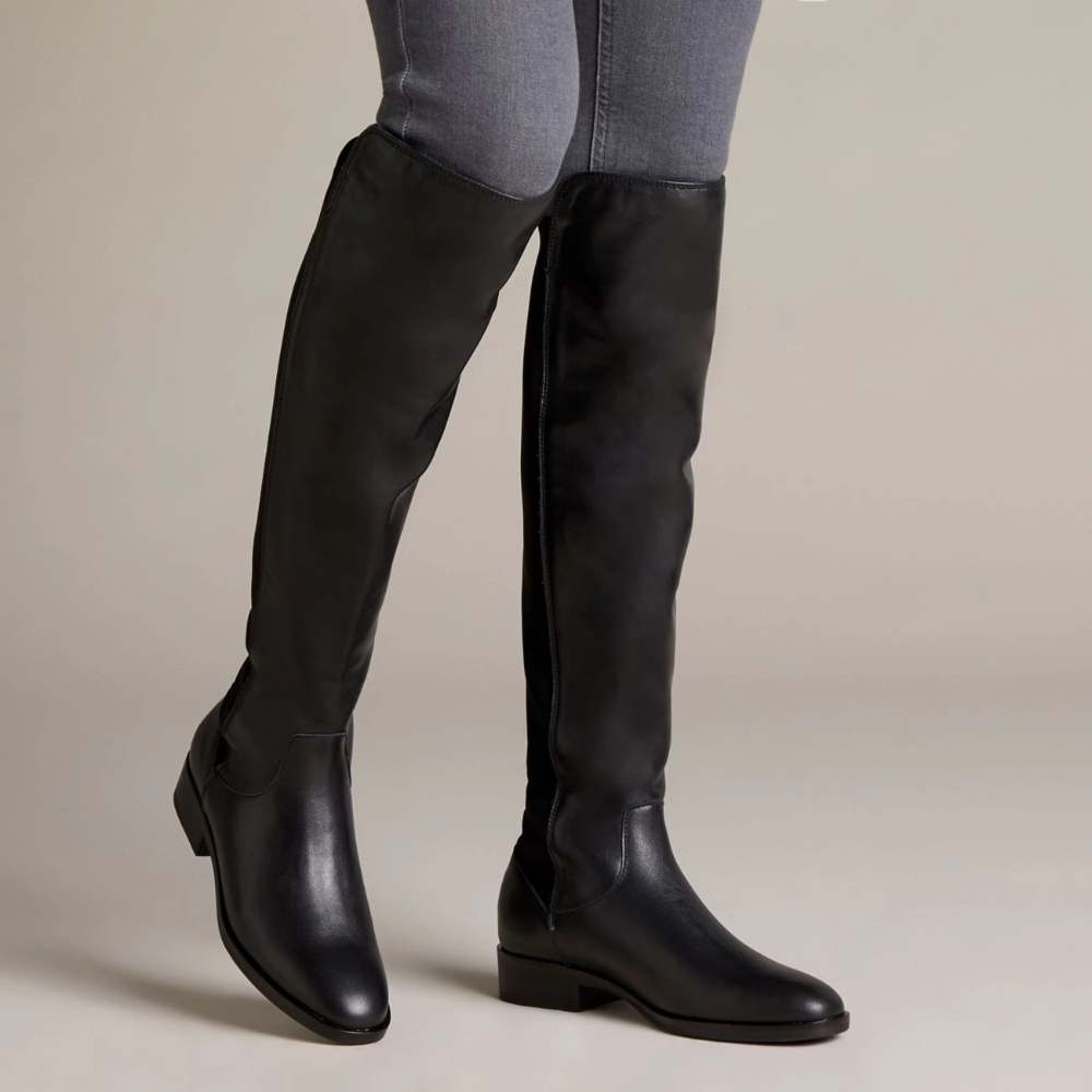 Pure Caddy in 2020 | Boots, Knee high boots, Clarks