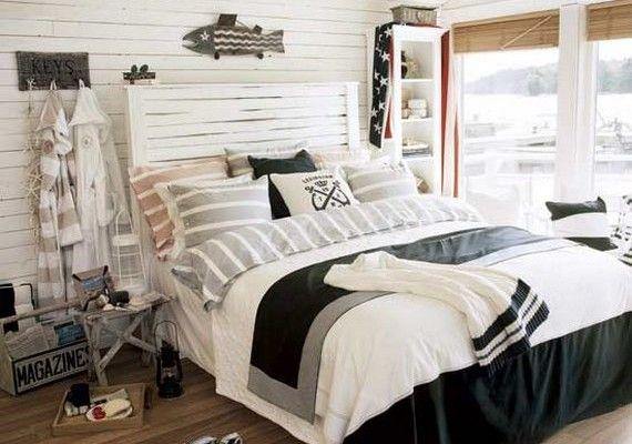 16 Beach Style Bedroom Decorating Ideas Beach House Interior Design Nautical Decor Bedroom Beach Style Bedroom