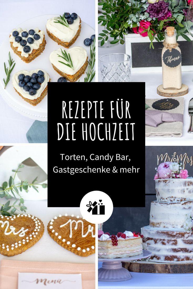 Rezepte für die Hochzeit – Torten, Candy Bar, Gastgeschenke & mehr Schaut mal hier! Coole DIY-Rezepte für die Hochzeit von Baking Barbarine und Wiener Zucker 🙌🙌🔝 Enthält super einfache Anleitungen für & mehr - perfekt für leidenschaftliche und Hobbybäcker 😍 |