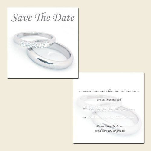 Save the Date Postcards - Silver Rings - Pack of 20 by The Card Gallery, http://www.amazon.co.uk/dp/B00C221KSK/ref=cm_sw_r_pi_dp_cK9etb1ZA5K44
