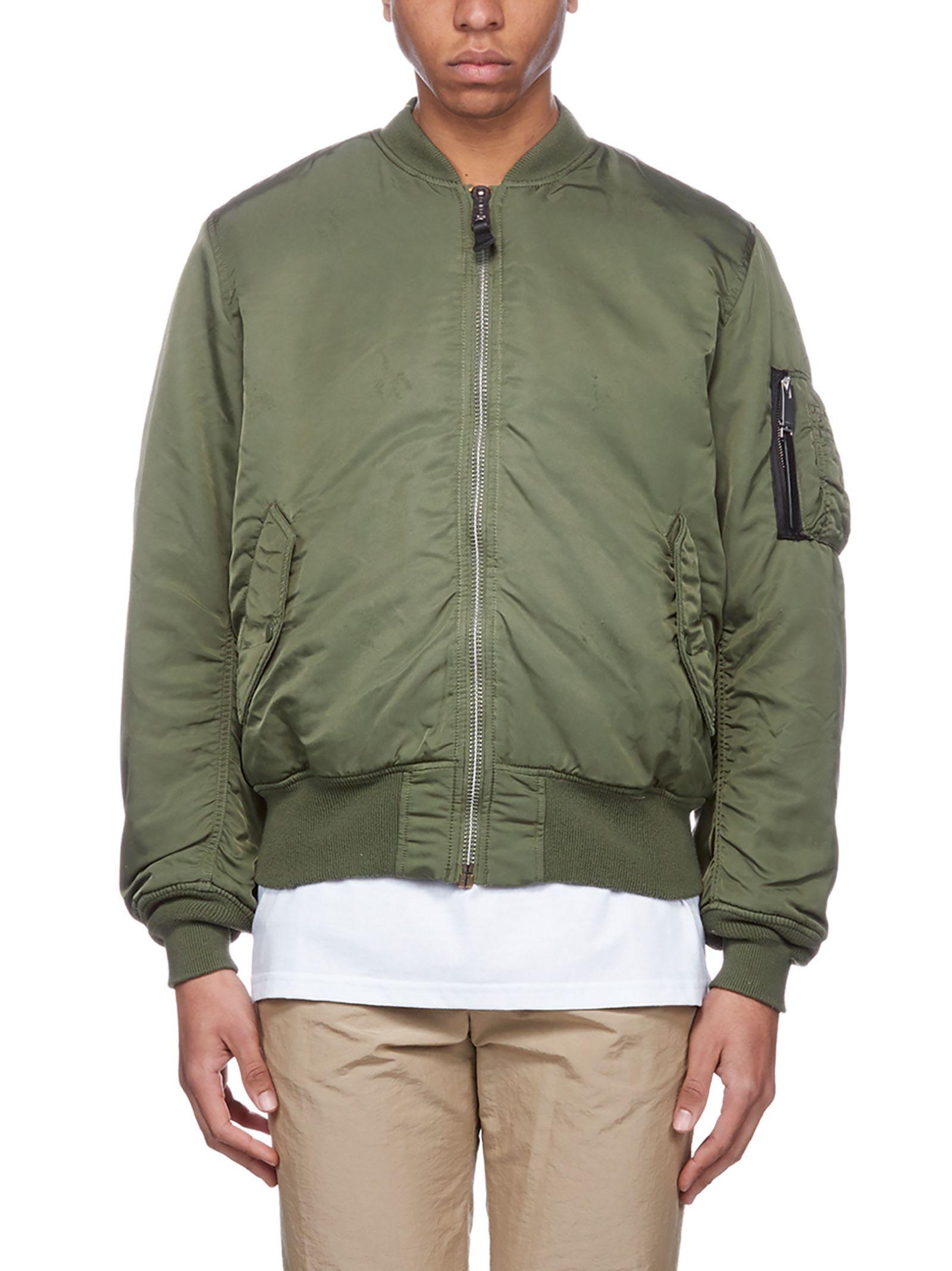 Alyx Logo Bomber Jacket Alyx Cloth Jackets Bomber Jacket Green Logo [ 2136 x 1600 Pixel ]