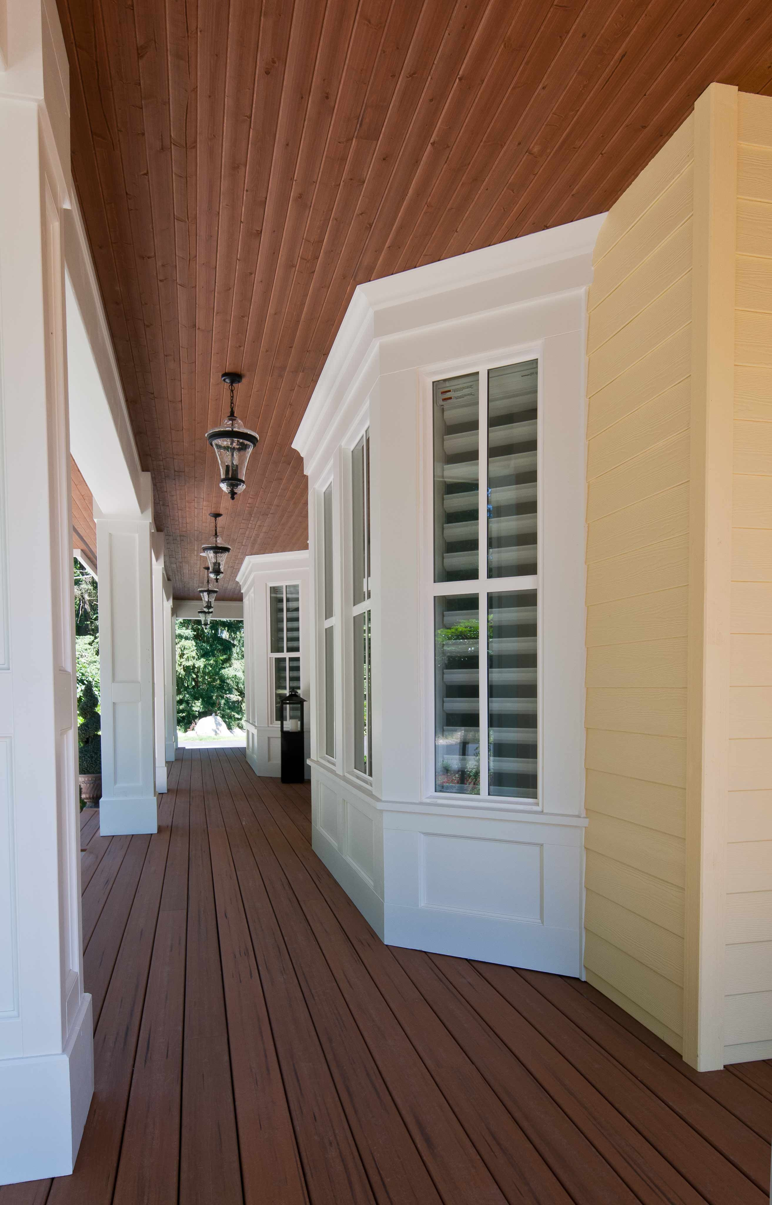 Love How The Soffit On The Porch Is Not White Like The Trim House Paint Exterior Yellow House Exterior Exterior Paint Colors For House